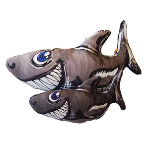 "ПД-01 Подушка-игрушка "" Акула-улыбака"" маленькая"